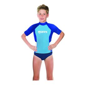 Mares Rash Guard Junior Short Sleeve Boy