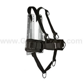 XDeep DIR Harness with Backplate and Weigh Pockets