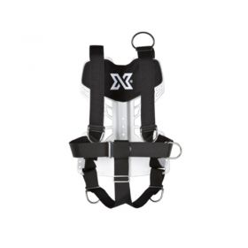 Xdeep NX Ultralight Standard Harness with Aluminium Backplate