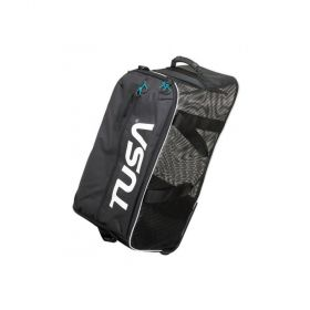 Tusa Bolsa Red Mesh Roller Bag