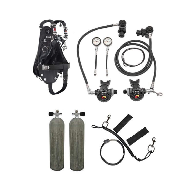 Dive rite set completo sidemount nomad ls gidive store - Dive rite sidemount ...
