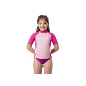 Mares Rash Guard Junior Manga Corta Niña