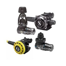 Scubapro Pack MK25 EVO / A700 Black Tech + Octopus R195