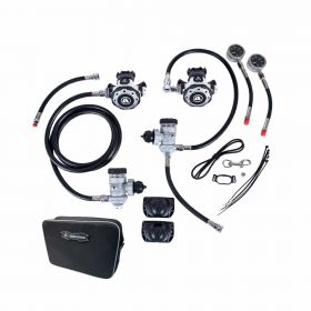 Apeks MTX-R Sidemount Regulator Set