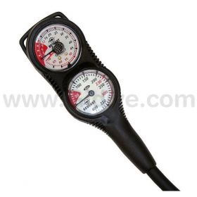 Beuchat 2 Elements Gauge - Depth Gauge + Pressure Gauge