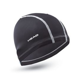 Head Cap Nylon/Spandex Black