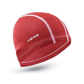 Head Cap Nylon/Spandex Red