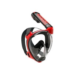 Cressi Duke Dark Mask Red