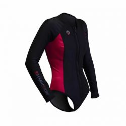 Sharkskin Chillproof Long Sleeve Step-in Pink Woman