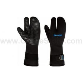 Bare Guantes Three-Finger Mitt 7mm