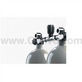 Apeks Twin Set Valve with Manifold 300bar 5 & 7 liters (140mm)