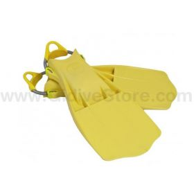 Tecline Jetstream Fins Yellow