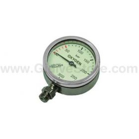 Tecline Oxygen Pressure Gauge 52mm