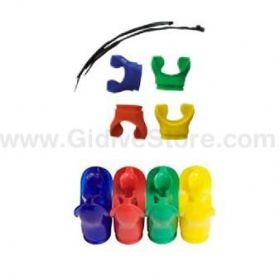 Apeks Color Mouthpiece Set (4un)