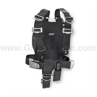 DTD Adjustable Harness + Aluminium Backplate 3mm