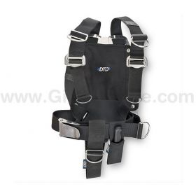 DTD Adjustable Harness + Aluminium Backplate 3mm