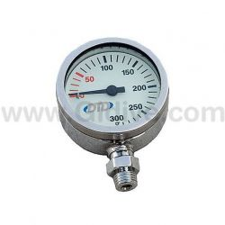 DTD Pressure Gauge 52mm 300bar