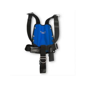 DTD KIDDO Harness Blue + SS Backplate 3mm