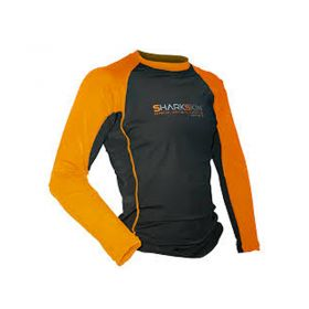 Sharkskin Camiseta Rapid Dry Manga Larga Orange