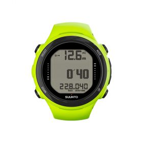 Suunto D4i Novo Lime with Interface