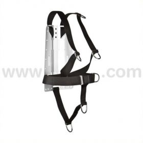 XDeep DIR Harness with Aluminium Backplate
