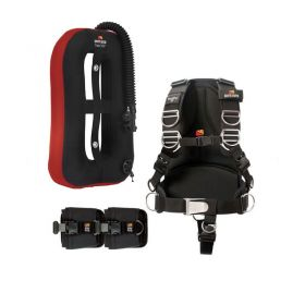 Dive Rite Pack Ala Travel EXP Roja