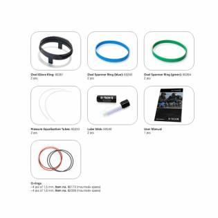 Si Tech Set Antares Glove Rings + Spanner Rings