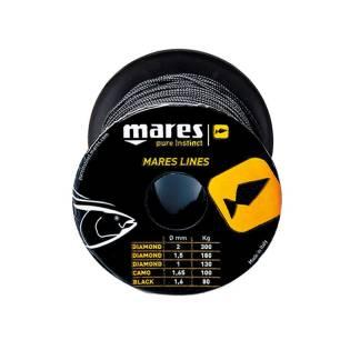 Mares Hilo Nylon Negro 1.6mm (50m.)
