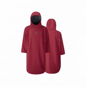 Fourth Element Storm Poncho Burgundy