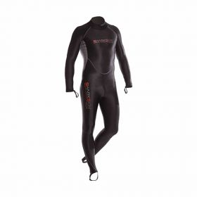 Sharkskin Chillproof Rear Zip Suit Man