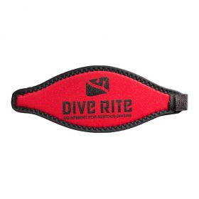 Dive Rite Neoprene Mask Strap Red