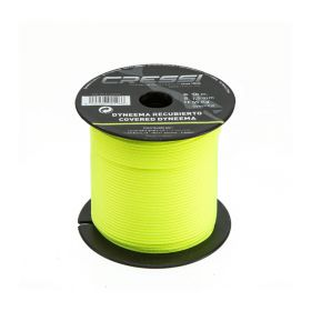 Cressi Dyneema Line with Cover 1.5mm Yellow (50m)