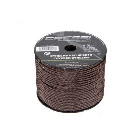 Cressi Dyneema Line with Cover 2mm Brown (50m)