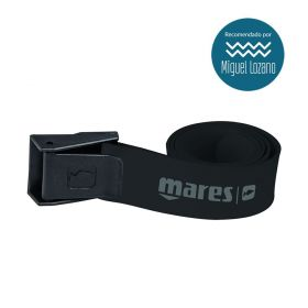 Mares Elastic Belt with Nylon Buckle White