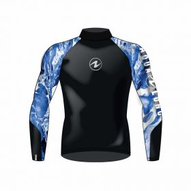 Aqualung Rash Guard Camiseta Manga Larga Hombre
