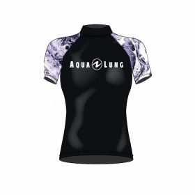 Aqualung Rash Guard Short Sleeve Woman