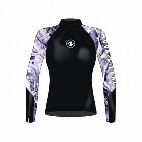 Aqualung Rash Guard Camiseta Manga Larga Artic Mujer