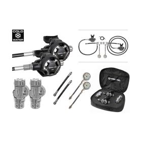 Mares XR 28XR/HR Sidemount Regulator Set