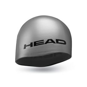 Head Cap Silicone Moulded Silver
