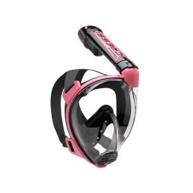 Cressi Duke Dark Mask Blue Pink