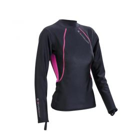 Sharkskin Chillproof Long Sleeve Pink Woman