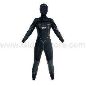 Beuchat Semidry Suit Med C-Zip 8/7mm Woman