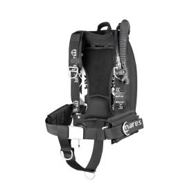 Mares XR Pack XR-Rec Silver Single Backmount