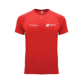 Gidive Technical T-Shirt Red