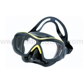 Poseidon ThreeDee Black/Yellow Mask