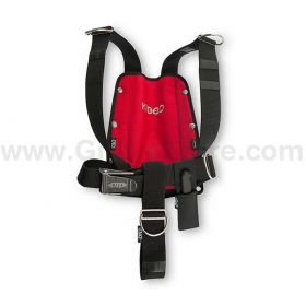 DTD KIDDO Harness Red + SS Backplate 3mm