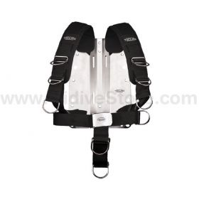 Tecline Adjustable Comfort Harness with Aluminium Backplate