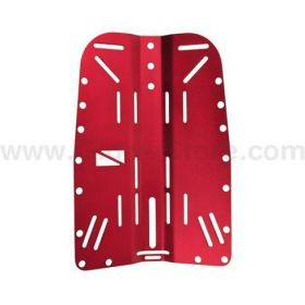 Tecline Aluminium Backplate Red