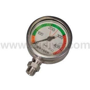 DTD Manómetro 52mm 300bar Oxígeno