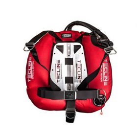 Tecline Pack Donut 22 Special Red with DIR Harness